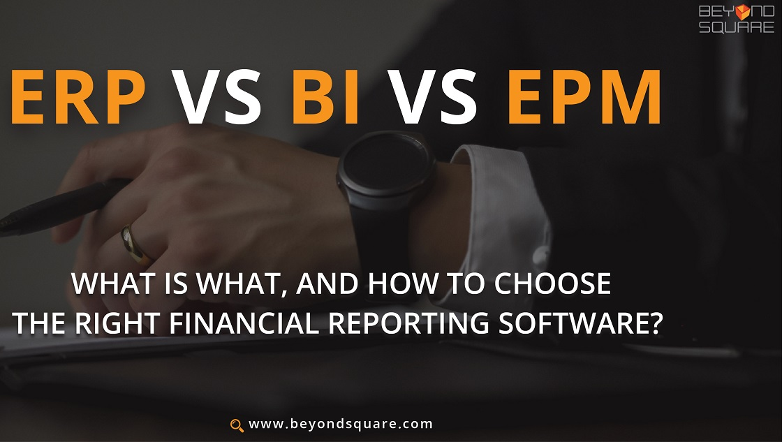 Right Financial Reporting Software